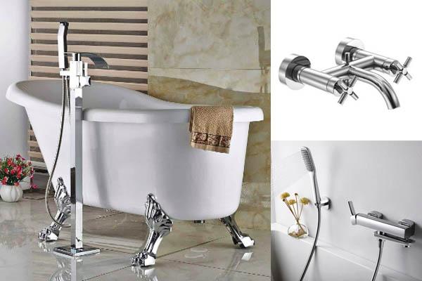 Grifo monomando o bimando, ¿cuál se adapta mejor a tu bañera?