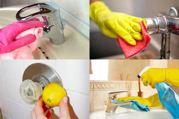 7 consejos infalibles para limpiar los grifos del baño
