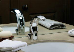 grifo lavabo con sensor automático